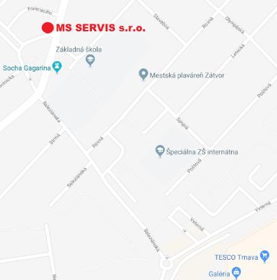 f916f41a6 Ako nás nájdete - MS SERVIS
